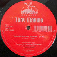 Tony Marino - Scars On My Heart-Don't Say No Tonight  - (Vinyl, 12'' 1991)(Hot Apple Records)