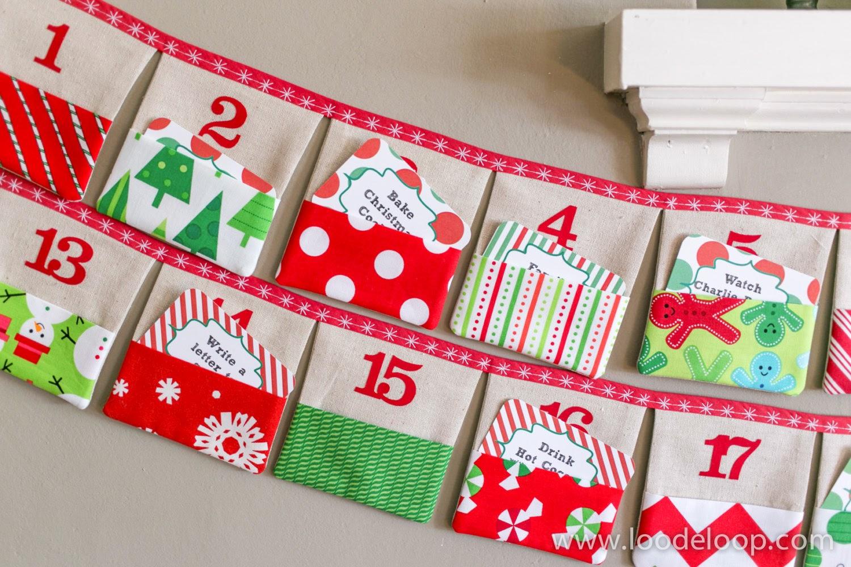 Advent Calendar Handmade Knitting : Loodeloop loo de loop advent calendars