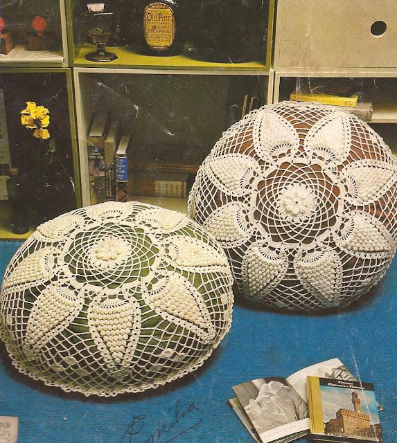 Cojin a Crochet