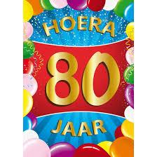 Martje 80 jaar