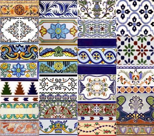 Azulejos para ba o pintados a mano for Adhesivos para azulejos de bano