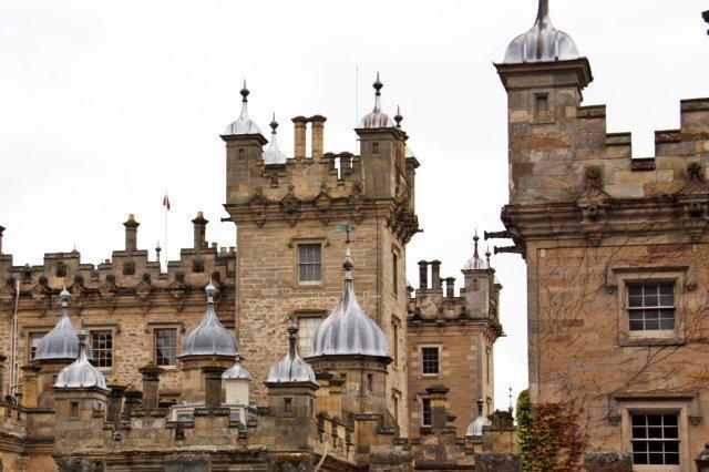 Torres de Floors, Floors Castle en Kelso en los Bordes escoceses
