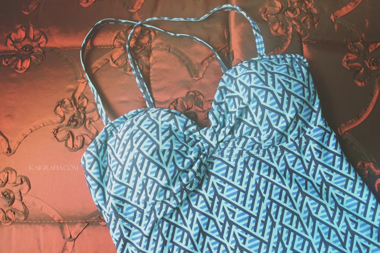 Tankini Swimwear Sassa Aztec Design bustier