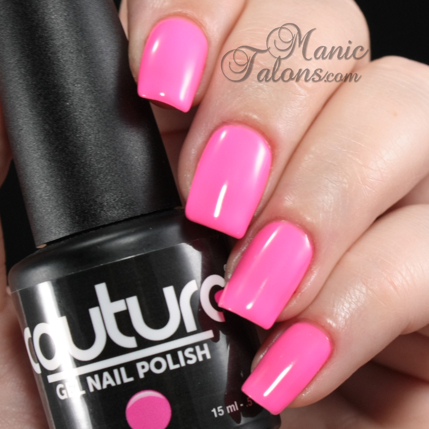 Couture Gel Polish Come On Barbie Swatch