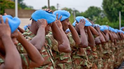 UN peace keepers in Mali