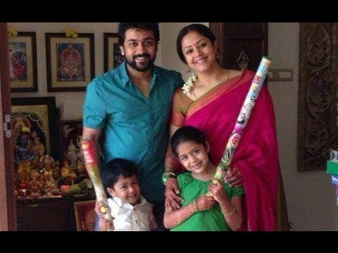 Surya 's happy Family