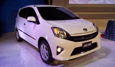 Spesifikasi Toyota Agya