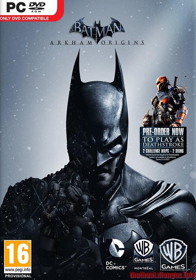 Download Game Batman Arkham Origins Initiation DLC – RELOADED