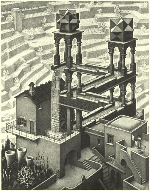 La Cascada Infinita De Escher,Una Ilusion Imposible