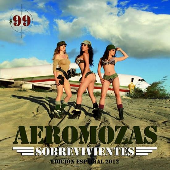Wicked Magazine Calendario Las Aeromozas Mexicana