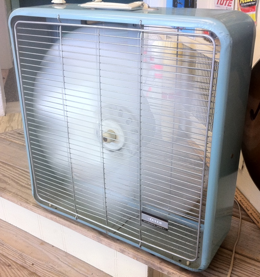 1960s Box Fan : Lost found marblehead ma a little late in the game
