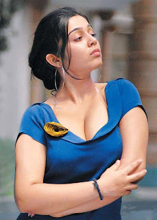 Charmi Kaur hot cleavage