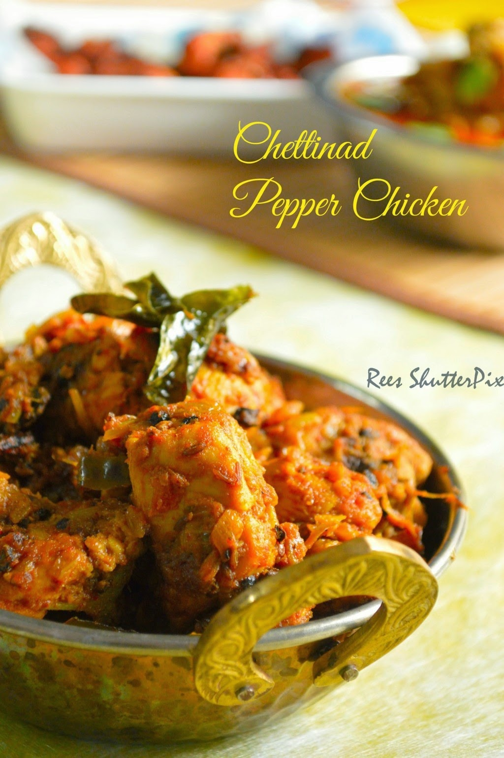 Delectable flavours chettinad recipes chettinad pepper chicken forumfinder
