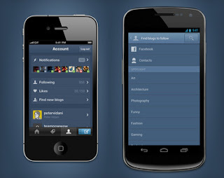 Tumblr for Android and latest iPhone