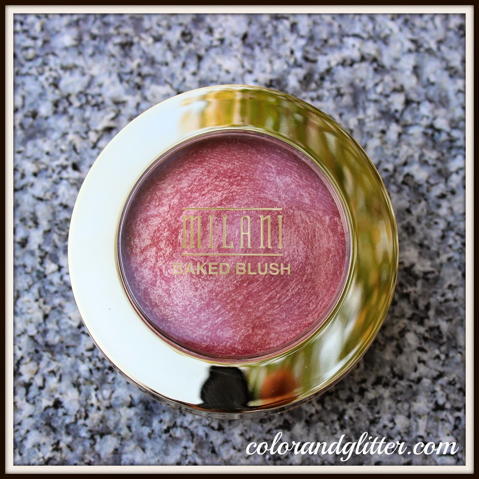 Milani Baked Blush in Dolce Pink || Review and Swatches