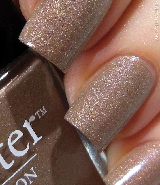 butter london all hail the queen swatch