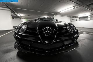 Mercedes slr 722 front view - صور مرسيدس slr 722 من الخارج