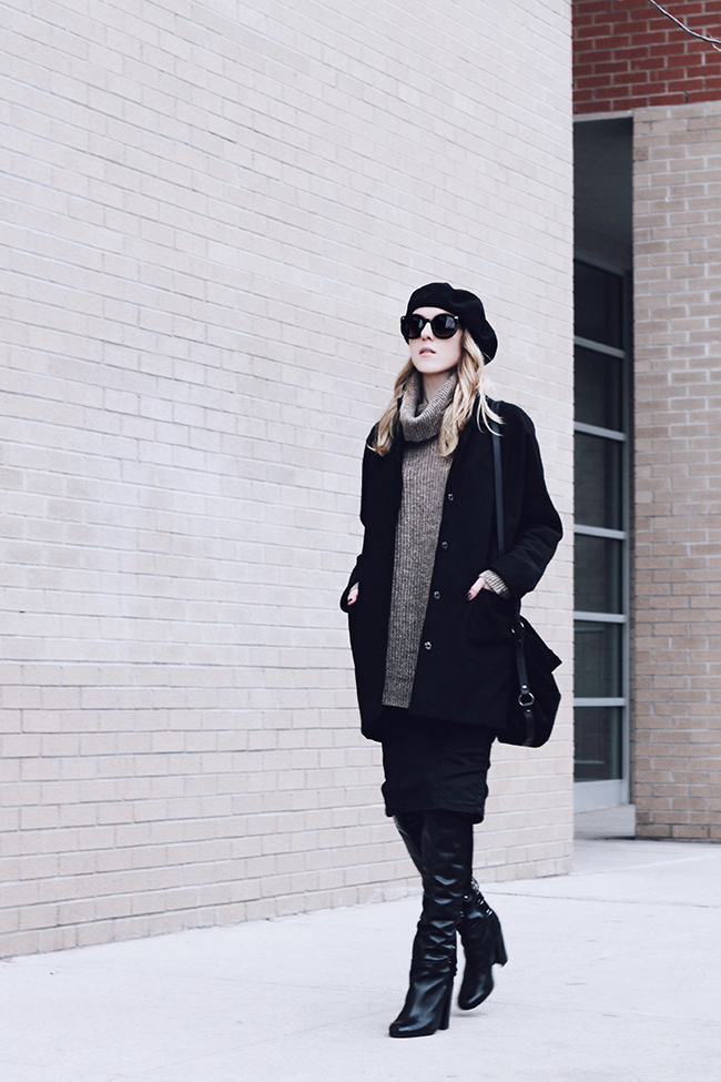 """Rocking a Beret"" outfit post by Victoria Wind of ""The Wind of Inspiration"". Get an idea of how to wear a beret. Stay inspired! #twoistyle #style #fashion #personalstyle #fashionblog #ootd #outfit #outfitoftheday"