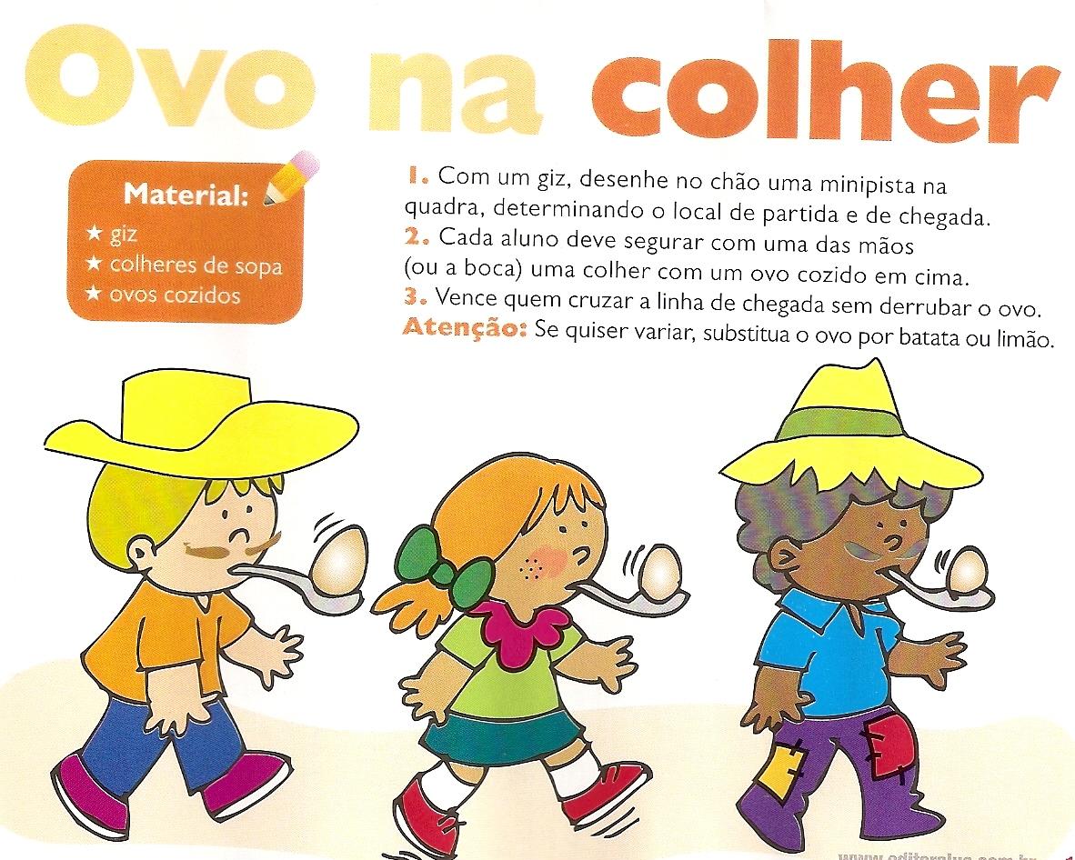 Conhecido BRINCADEIRAS PARA FESTA JUNINA | Cantinho do Educador Infantil UI31