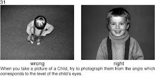 Совет 31. Когда снимаете детей, необходимо опускать камеру до уровня их глаз.