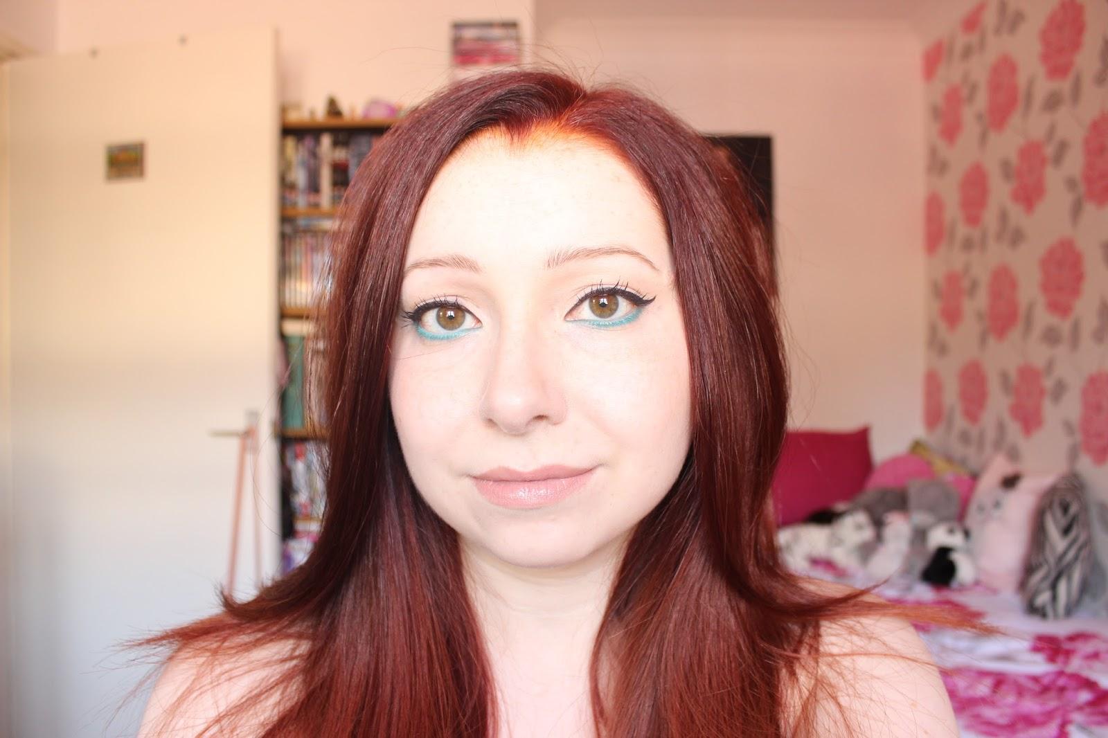 Makeup: Turquoise Eyes