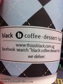 Black O Coffee Desert Bar, 111 Somerset, Cappuccino, Papa Palheta