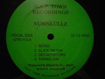 Numskullz – G.A.P. Town Recordings E.P. (199x) (EP) (VBR)