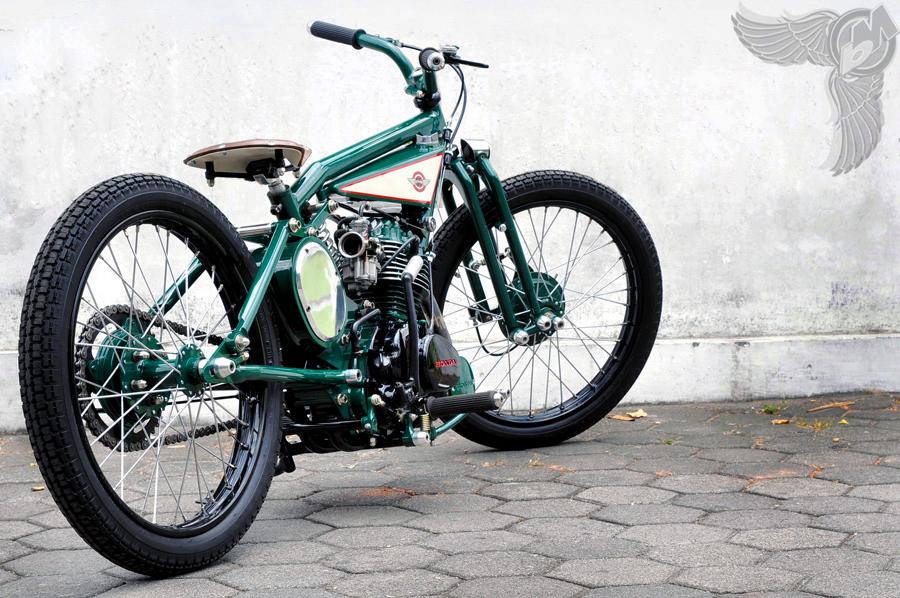 indonesian honda gl100 bobber | dariztdesign