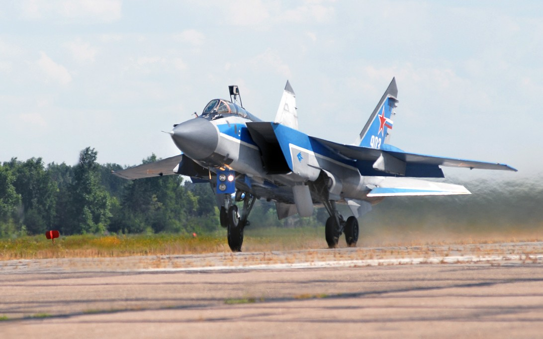 MiG-31 Foxhound jet fighter wallpaper 4