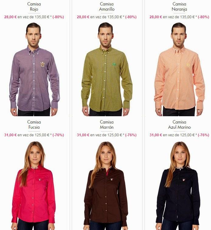 camisas oferta