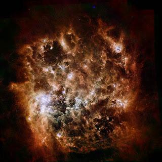 telescopio spitzer nube de magallanes