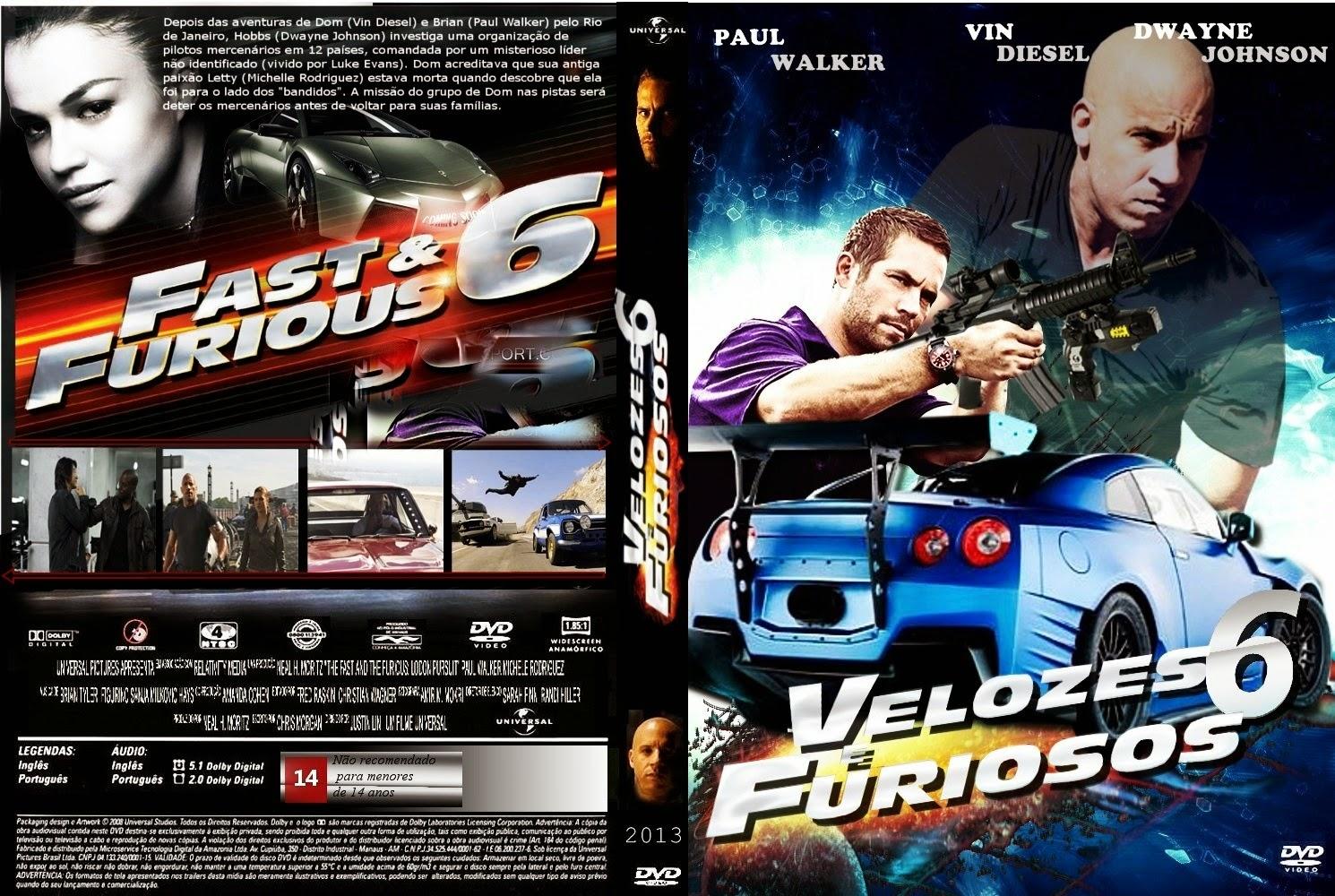 Velozes e Furiosos DVDRip Dual Audio