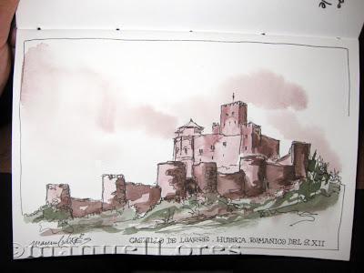 Urban Sketchers Spain El mundo dibujo a dibujo ROMNICO DE HUESCA