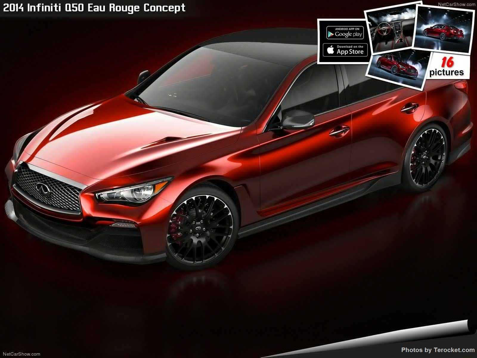 Hình ảnh xe ô tô Infiniti Q50 Eau Rouge Concept 2014 & nội ngoại thất