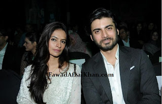 Fawad Afzal khan and wife sadaf