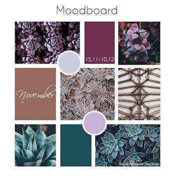 Scrap Charmed Challenge - moodboard
