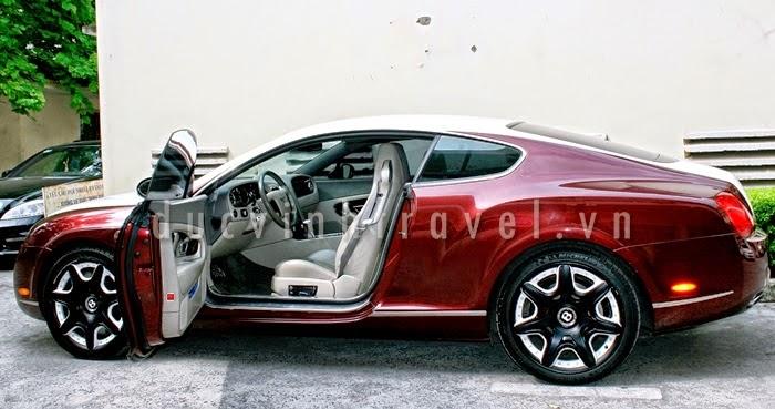 Cho thuê siêu xe cưới Bently continenal GT 1
