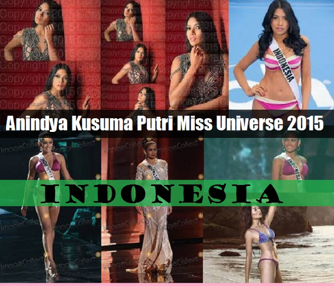 100 Foto Anindya Kusuma Putri Transparant Tanpa Sensor Miss Universe 2015 Indonesia