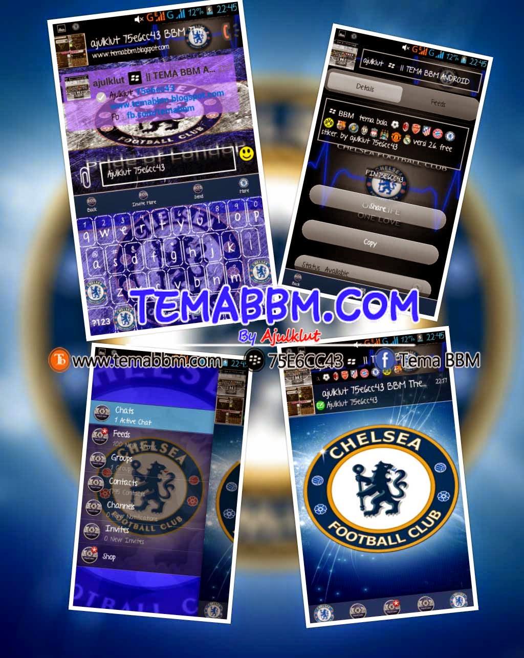 BBM MOD Chelsea