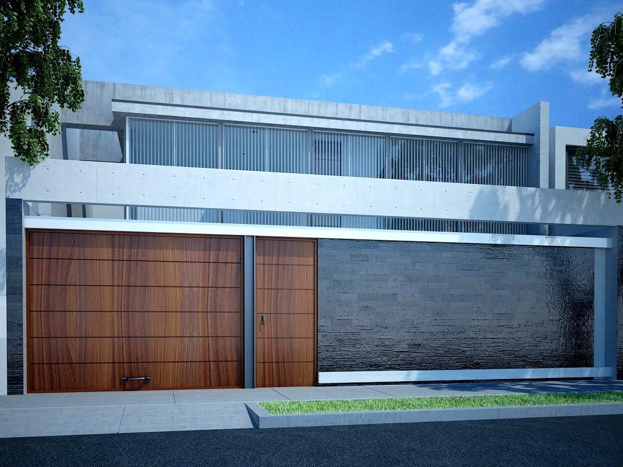 Cosmopolis agosto 2011 for Fachada de casas modernas con porton