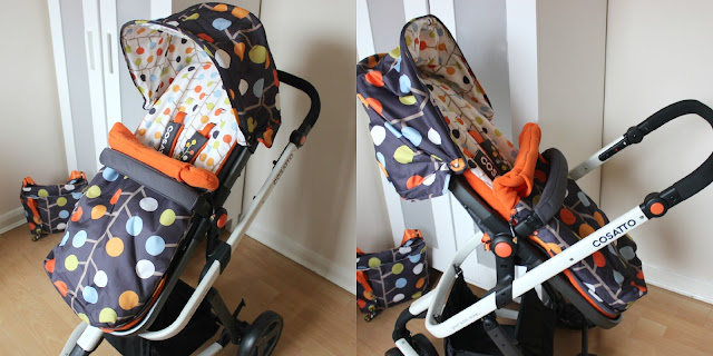 British designed Cosatto Fable Giggle 2 Travel System