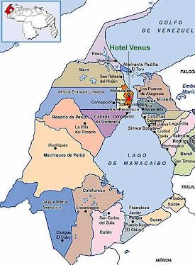 Mapa del Zulia