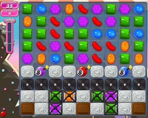 Trucos Nivel 104 de Candy Crush Saga