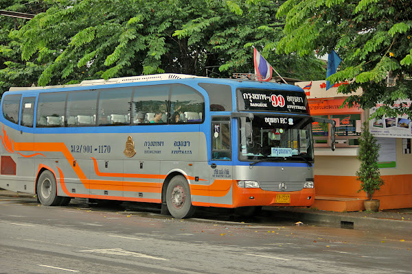 How to get to Ayutthaya from Bangkok?