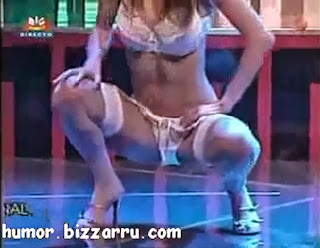 Striptease de Liliana Queiroz no Herman SIC
