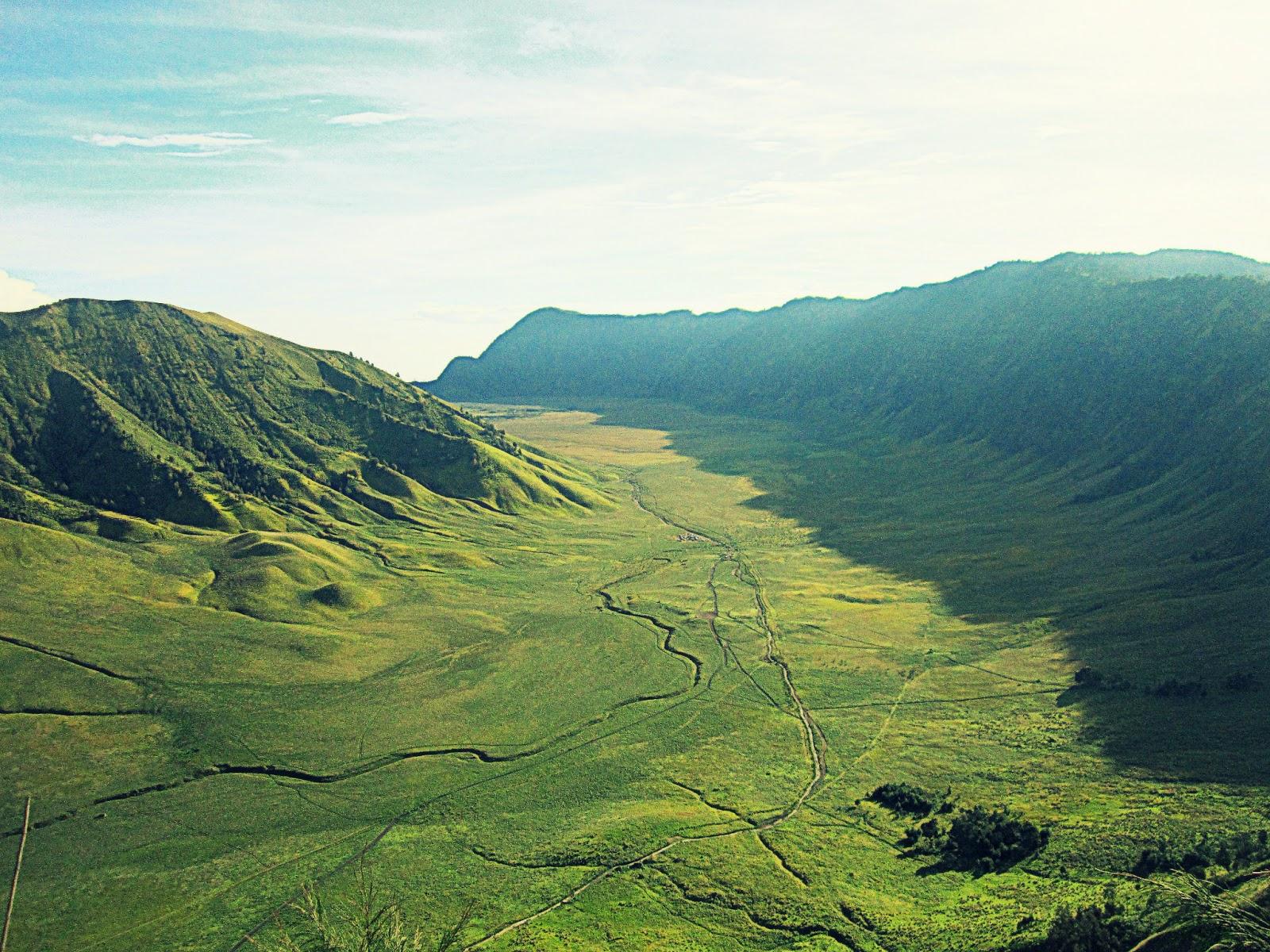 Lembah Jemplang Bromo Mountain