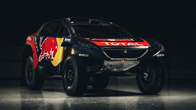 The beauty in the beast: Peugeot 2008DKR reveals its Dakar racing colours