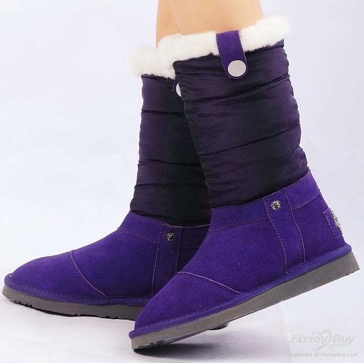 Eiderdown+Half+Boots+Flat+Winter+Comfortable+Purple+Snow+Boots.png