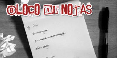 """As minhas sugestões no """"Bloco de Notas"""" - SJ Rádio"""