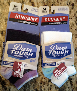 Darn tough - run/bike socks